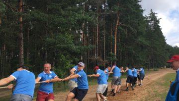"""LRN un """"Dzelzceļnieks KS"""" apvienotā komanda piedalās LDz sporta spēlēs"""