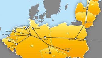 Latvija un Igaunija pievienojas Ziemeļjūras – Baltijas jūras dzelzceļa kravu pārvadājumu koridoram